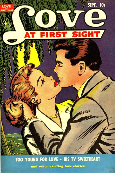 Cover for Love at First Sight (Ace Magazines, 1949 series) #11
