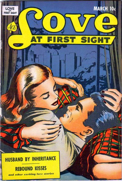 Cover for Love at First Sight (Ace Magazines, 1949 series) #14