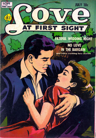 Cover for Love at First Sight (Ace Magazines, 1949 series) #16