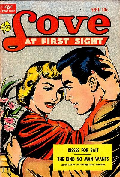 Cover for Love at First Sight (Ace Magazines, 1949 series) #17