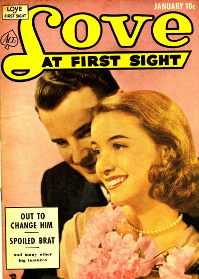 Cover for Love at First Sight (Ace Magazines, 1949 series) #19