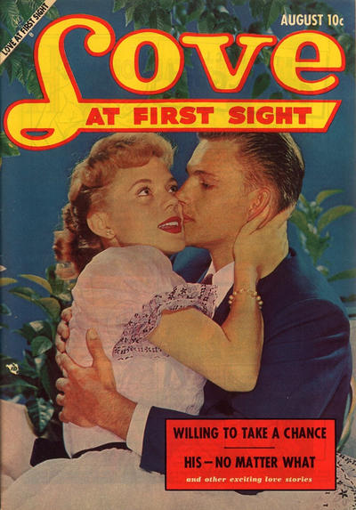 Cover for Love at First Sight (Ace Magazines, 1949 series) #23