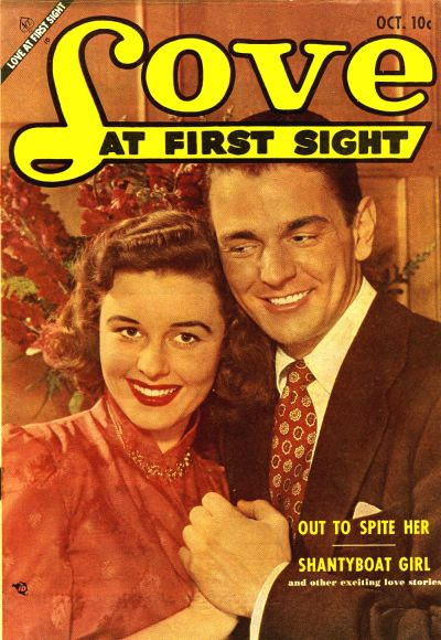 Cover for Love at First Sight (Ace Magazines, 1949 series) #24