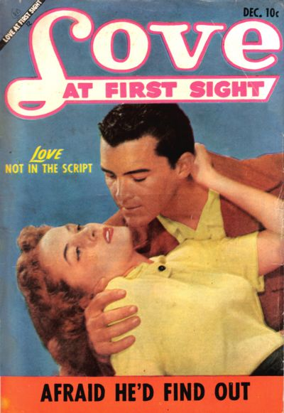 Cover for Love at First Sight (Ace Magazines, 1949 series) #25
