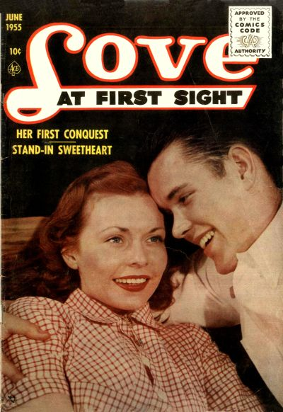 Cover for Love at First Sight (Ace Magazines, 1949 series) #35