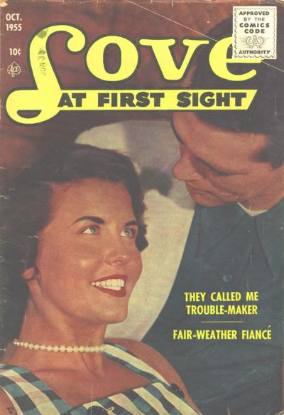 Cover for Love at First Sight (Ace Magazines, 1949 series) #37