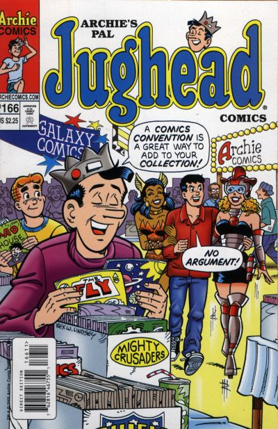Cover for Archie's Pal Jughead Comics (Archie, 1993 series) #166