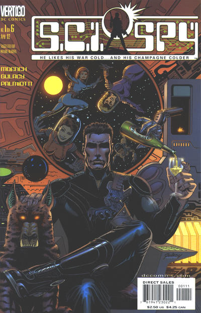 Cover for Sci-Spy (DC, 2002 series) #1