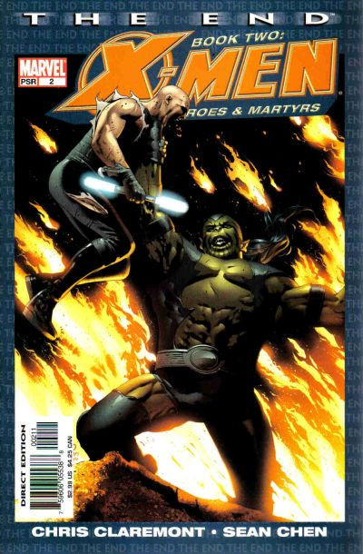 Cover for X-Men: The End - Heroes and Martyrs (Marvel, 2005 series) #2