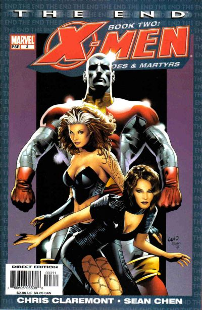 Cover for X-Men: The End - Heroes and Martyrs (Marvel, 2005 series) #3