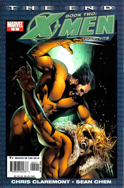 Cover for X-Men: The End - Heroes and Martyrs (Marvel, 2005 series) #5
