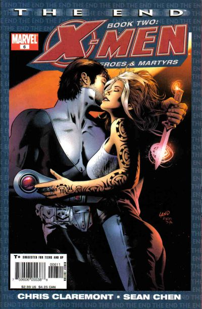Cover for X-Men: The End - Heroes and Martyrs (Marvel, 2005 series) #6