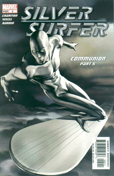 Cover for Silver Surfer (Marvel, 2003 series) #5 [Newsstand]