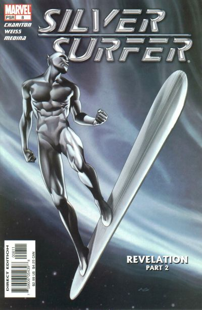Cover for Silver Surfer (Marvel, 2003 series) #8 [Direct Edition]