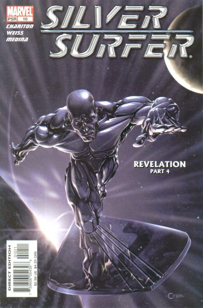 Cover for Silver Surfer (Marvel, 2003 series) #10