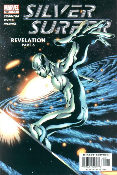 Cover for Silver Surfer (Marvel, 2003 series) #12