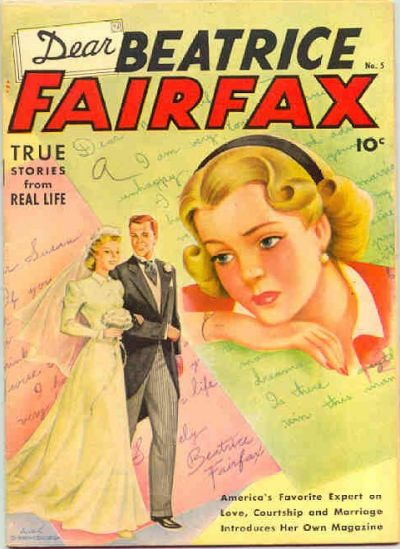 Cover for Dear Beatrice Fairfax (Pines, 1950 series) #5
