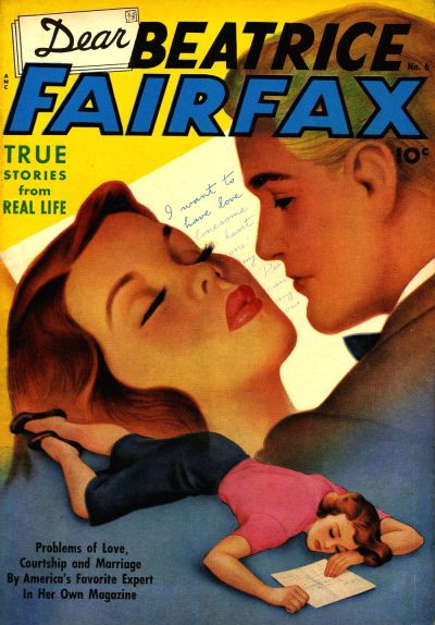 Cover for Dear Beatrice Fairfax (Pines, 1950 series) #6