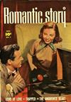 Cover for Romantic Story (Fawcett, 1949 series) #7