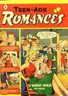 Cover for Teen-Age Romances (St. John, 1949 series) #22