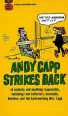 Cover for Andy Capp Strikes Back (Gold Medal Books, 1967 series) #D1838