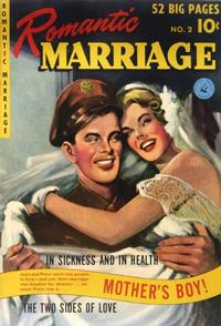 Cover Thumbnail for Romantic Marriage (Ziff-Davis, 1950 series) #2