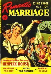 Cover Thumbnail for Romantic Marriage (Ziff-Davis, 1950 series) #3