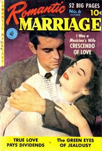 Cover Thumbnail for Romantic Marriage (Ziff-Davis, 1950 series) #6