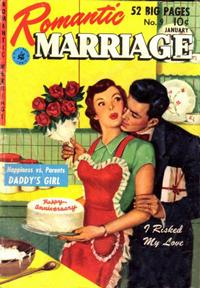 Cover Thumbnail for Romantic Marriage (Ziff-Davis, 1950 series) #9