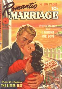 Cover Thumbnail for Romantic Marriage (Ziff-Davis, 1950 series) #10
