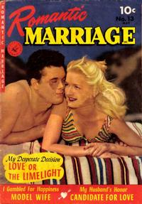Cover Thumbnail for Romantic Marriage (Ziff-Davis, 1950 series) #13