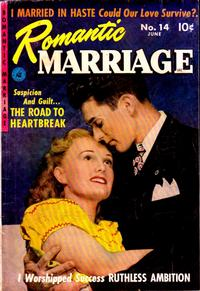 Cover Thumbnail for Romantic Marriage (Ziff-Davis, 1950 series) #14
