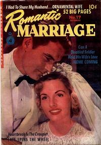 Cover Thumbnail for Romantic Marriage (Ziff-Davis, 1950 series) #17