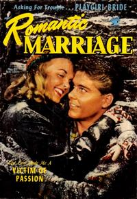 Cover Thumbnail for Romantic Marriage (St. John, 1953 series) #21