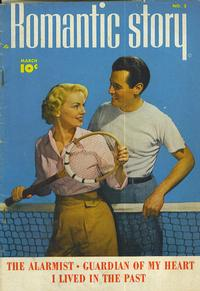 Cover Thumbnail for Romantic Story (Fawcett, 1949 series) #3