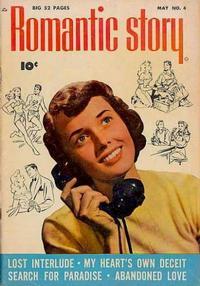 Cover Thumbnail for Romantic Story (Fawcett, 1949 series) #4