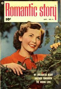 Cover Thumbnail for Romantic Story (Fawcett, 1949 series) #6