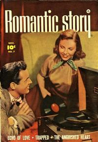 Cover Thumbnail for Romantic Story (Fawcett, 1949 series) #7
