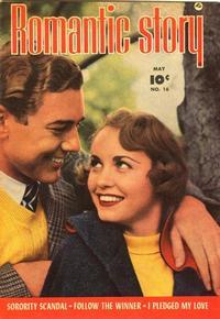 Cover Thumbnail for Romantic Story (Fawcett, 1949 series) #16