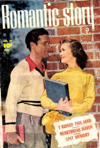 Cover Thumbnail for Romantic Story (Fawcett, 1949 series) #20