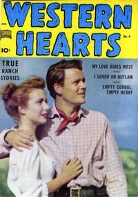Cover Thumbnail for Western Hearts (Pines, 1949 series) #4
