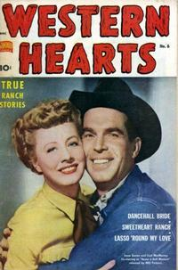 Cover Thumbnail for Western Hearts (Pines, 1949 series) #6
