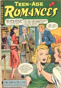 Cover Thumbnail for Teen-Age Romances (St. John, 1949 series) #3