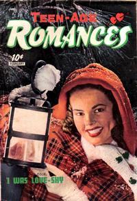 Cover Thumbnail for Teen-Age Romances (St. John, 1949 series) #8