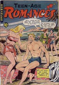 Cover Thumbnail for Teen-Age Romances (St. John, 1949 series) #9