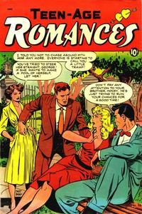 Cover Thumbnail for Teen-Age Romances (St. John, 1949 series) #16
