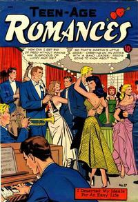 Cover Thumbnail for Teen-Age Romances (St. John, 1949 series) #17