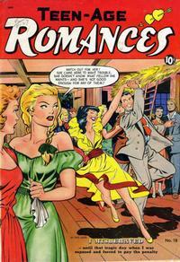 Cover Thumbnail for Teen-Age Romances (St. John, 1949 series) #18