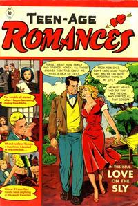 Cover Thumbnail for Teen-Age Romances (St. John, 1949 series) #21
