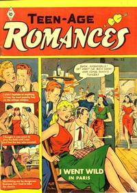 Cover Thumbnail for Teen-Age Romances (St. John, 1949 series) #22